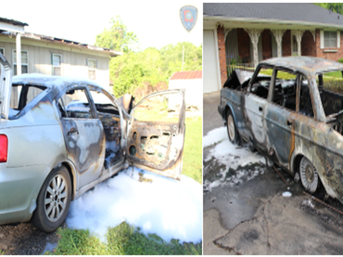 SJPFD: 2 cars parked on the same street set on fire within 24 hours in Mount Airy