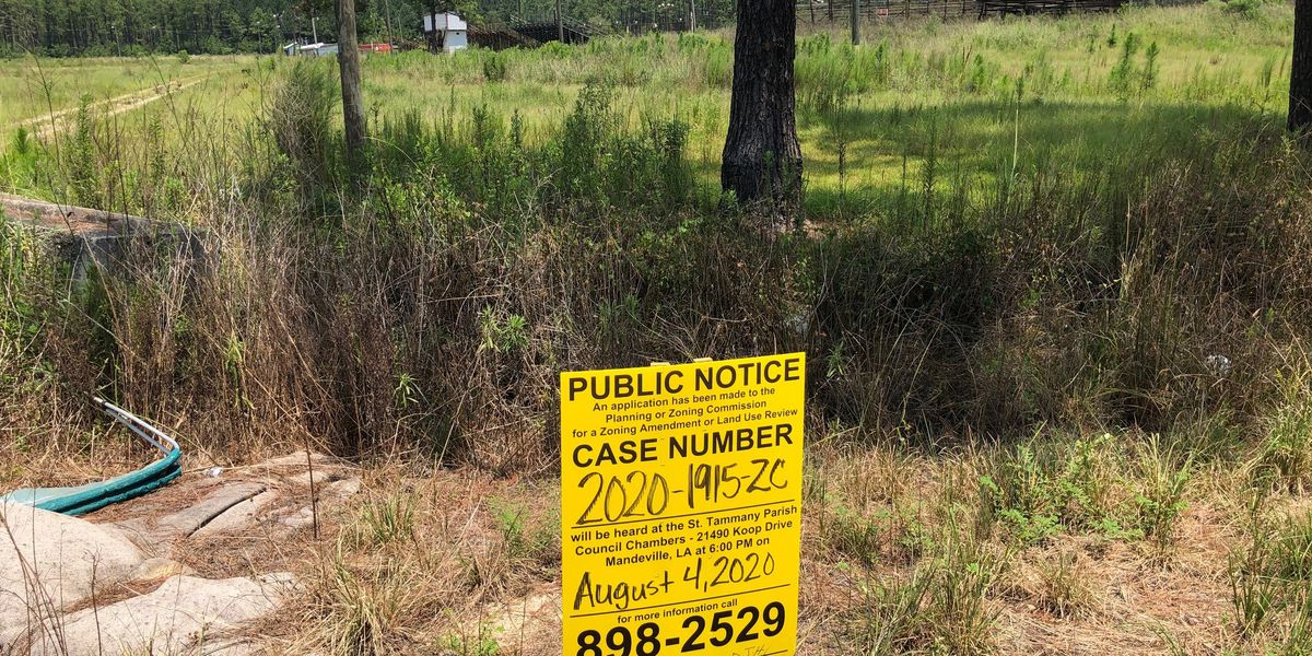 Proposed Dump and New Development off Dove Park On Zoning Agenda Tuesday