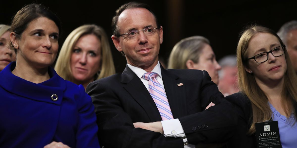 AP sources: Rosenstein spoke of possible secret Trump taping