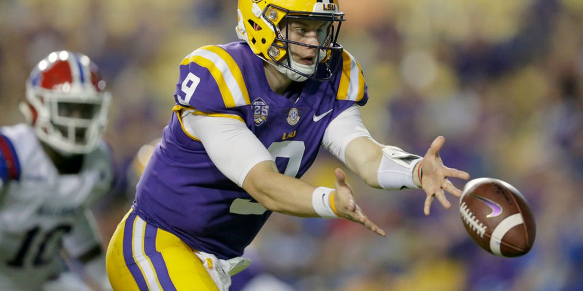 Joe Burrow continues to improve with every start at LSU