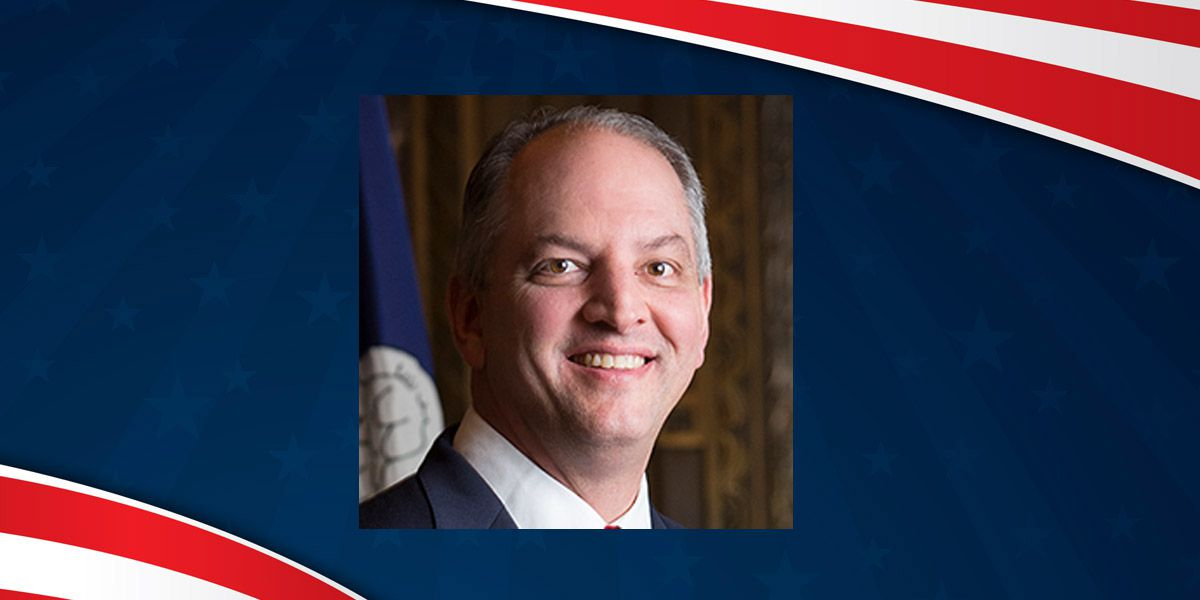 Democratic Governor John Bel Edwards elected to second term