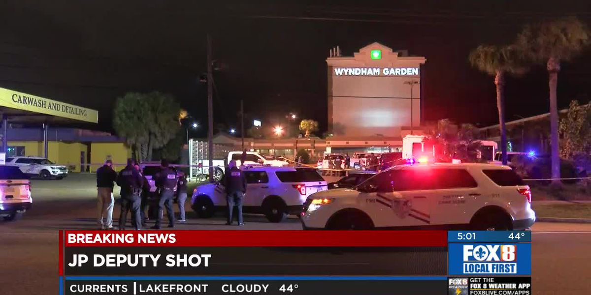 Deputy shot in Metairie, suspected shooter at large