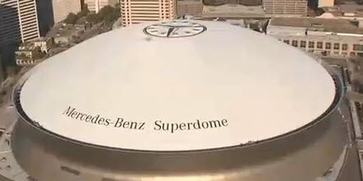 NOPD: Mercedes-Benz Superdome to be lit blue for National Police Week