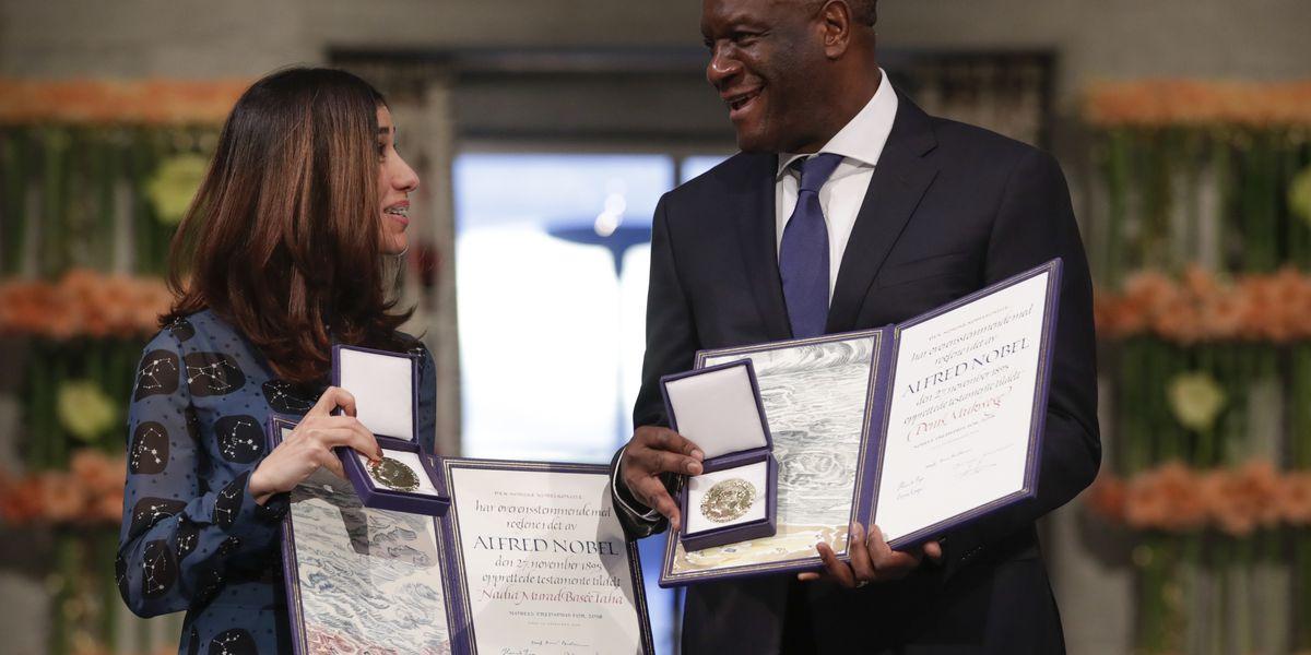 Nobel Peace winner: international action on sex abuse needed