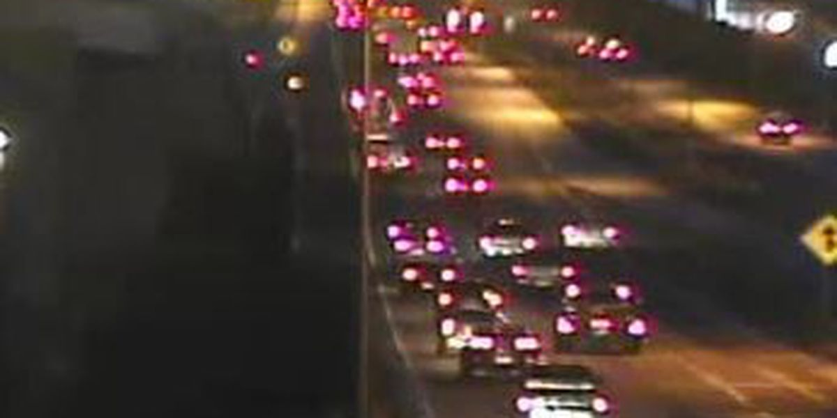 Traffic Now: Wednesday commute moving over slick roads