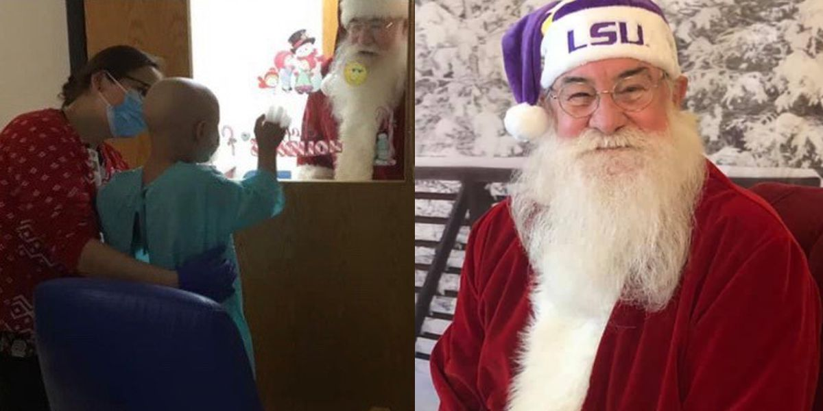 Livingston man who found 'life's calling' cheering up kids as Santa Claus passes away following COVID hospitalization