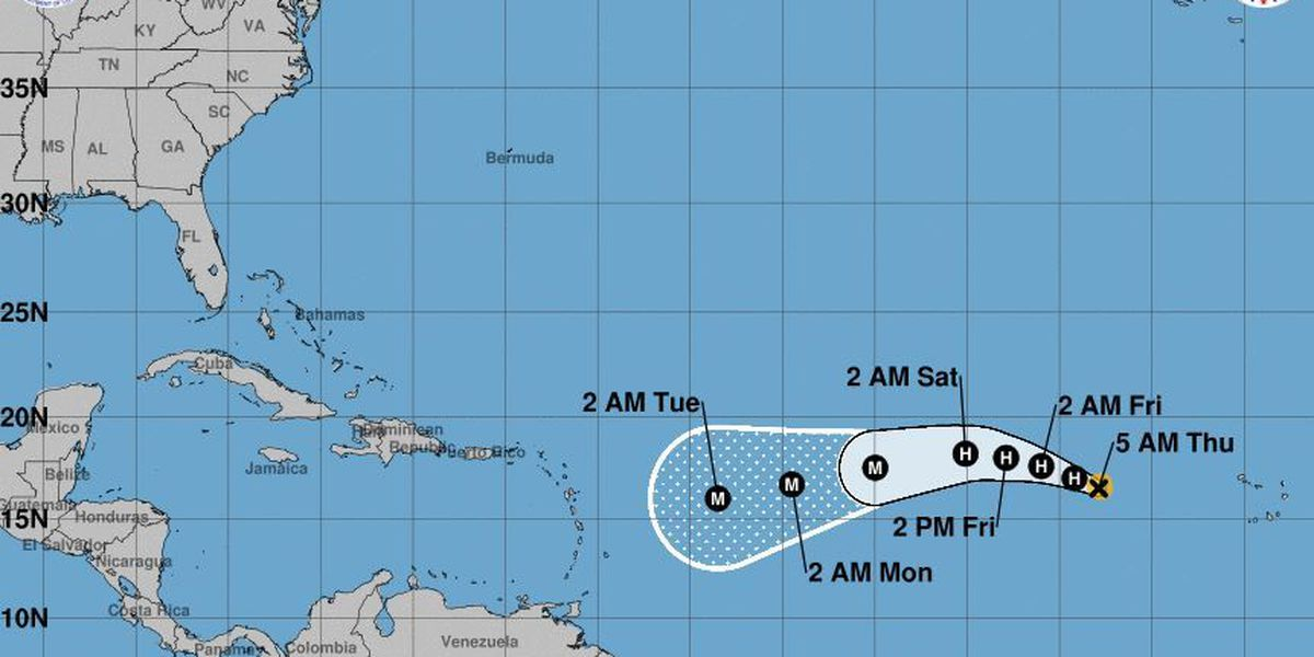 Harvey is moving away, a drier weekend ahead