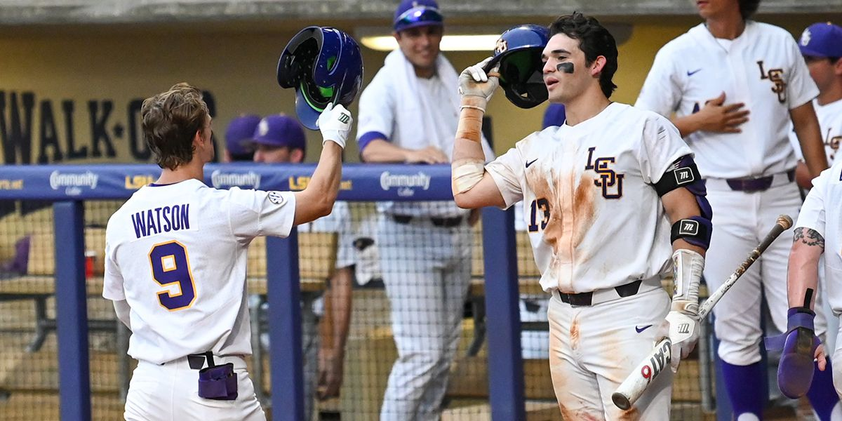 LSU routs Stony Brook in Baton Rouge Regional; Duplantis ties Tiger hits record