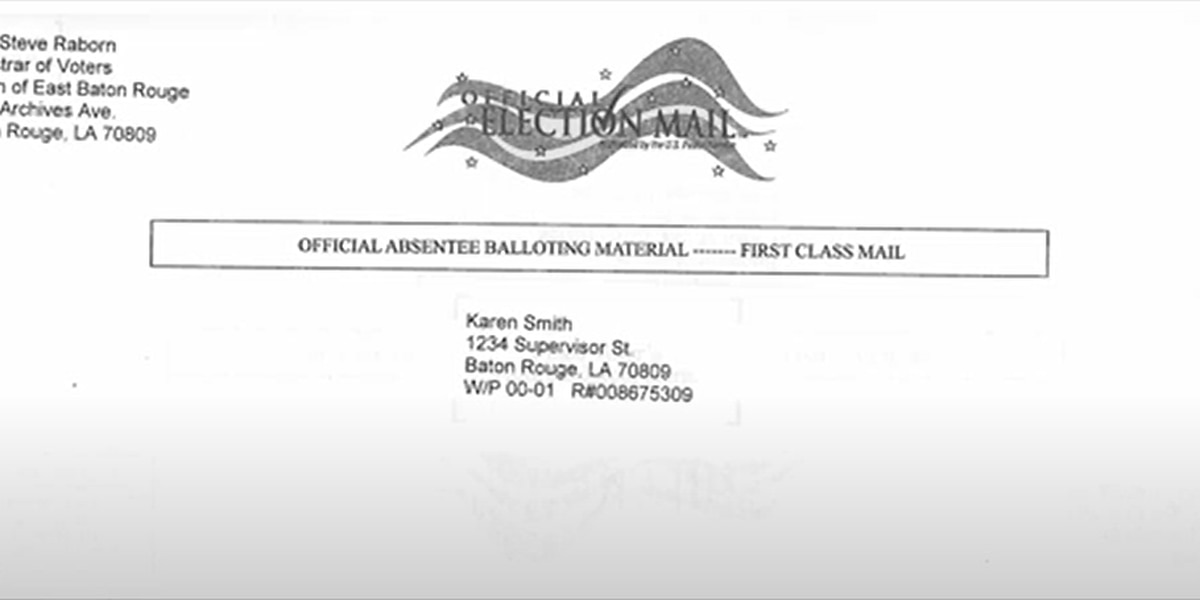 Louisiana Secretary of State issues absentee voting tutorial; Democrats allege voter suppression tactics in the state