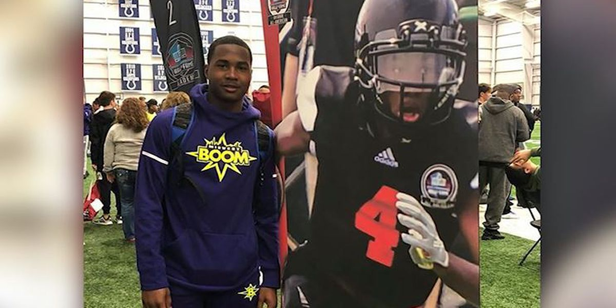 Jaylon McKenzie, 8th grade football phenom, Sports Illustrated rising star, fatally shot at Illinois house party
