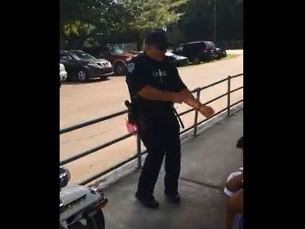 'Hit that beat!' Watch this Hammond Police Officer dance with kids