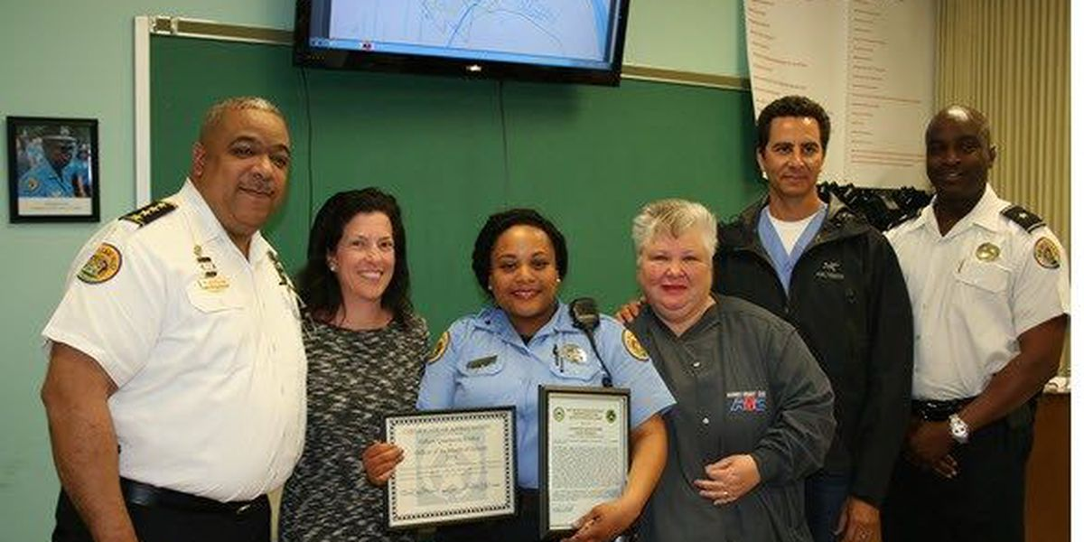 NOPD Chief honors officer