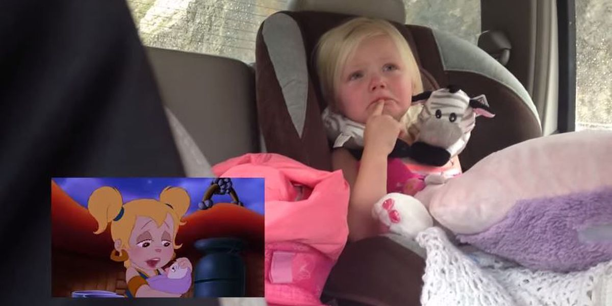 Trending: Toddler gets adorably emotional watching cartoons