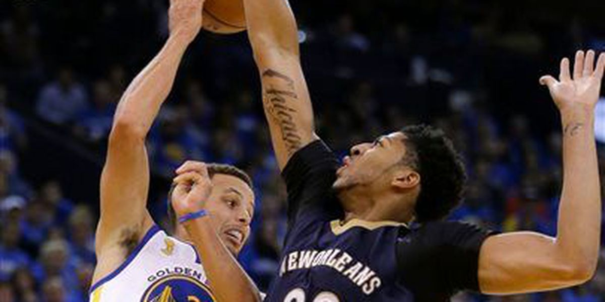 Curry scores 40 in Warriors win over Pelicans