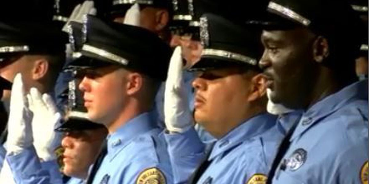 NOPD graduates 35 new police officers