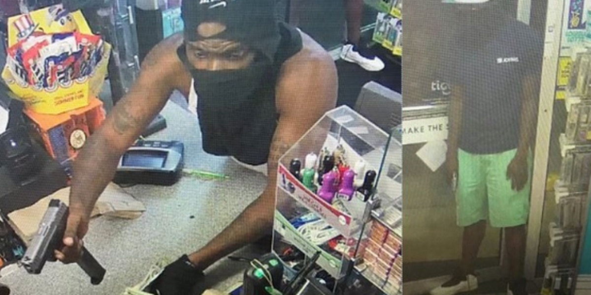 NOPD: Masked men rob store with extended magazine gun