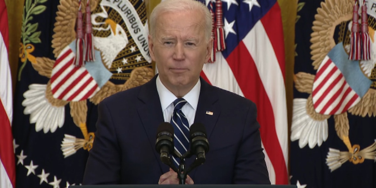 Biden talks oil & gas industry, infrastructure needs during his first formal press conference