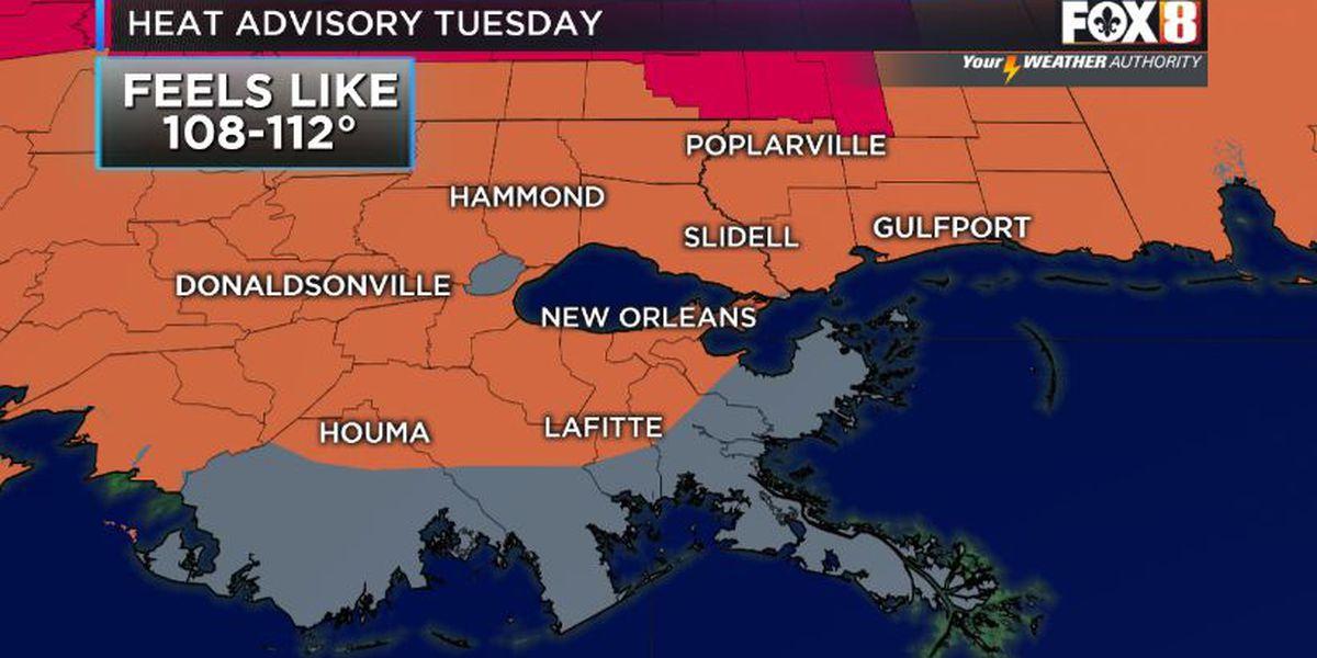 Heat advisories continue