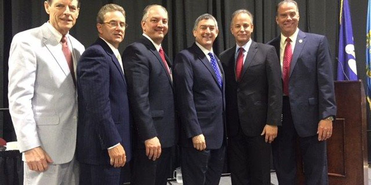 Gubernatorial candidates square off in Westwego Forum