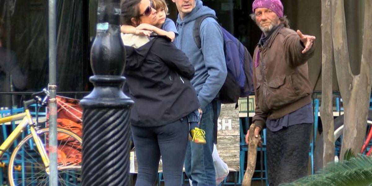 Merchants: Aggressive panhandling problem in Quarter growing worse