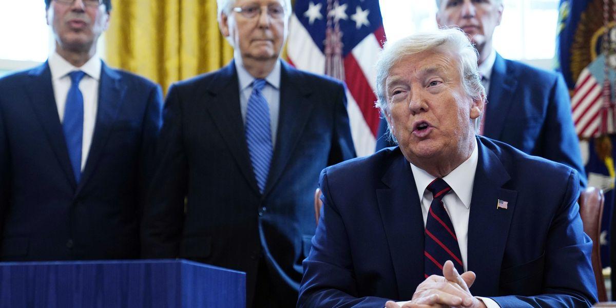 Congress set to pass $483B virus aid as Trump eyes next deal
