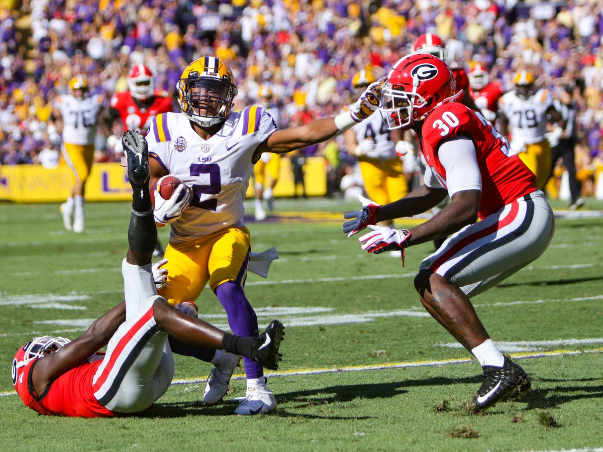 LSU's domination of Georgia puts the Tigers back in the national title picture