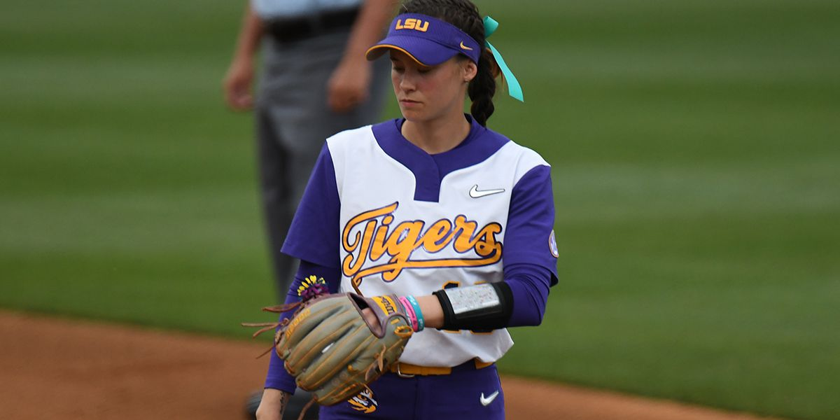Sydney Bourg returns to the field for LSU