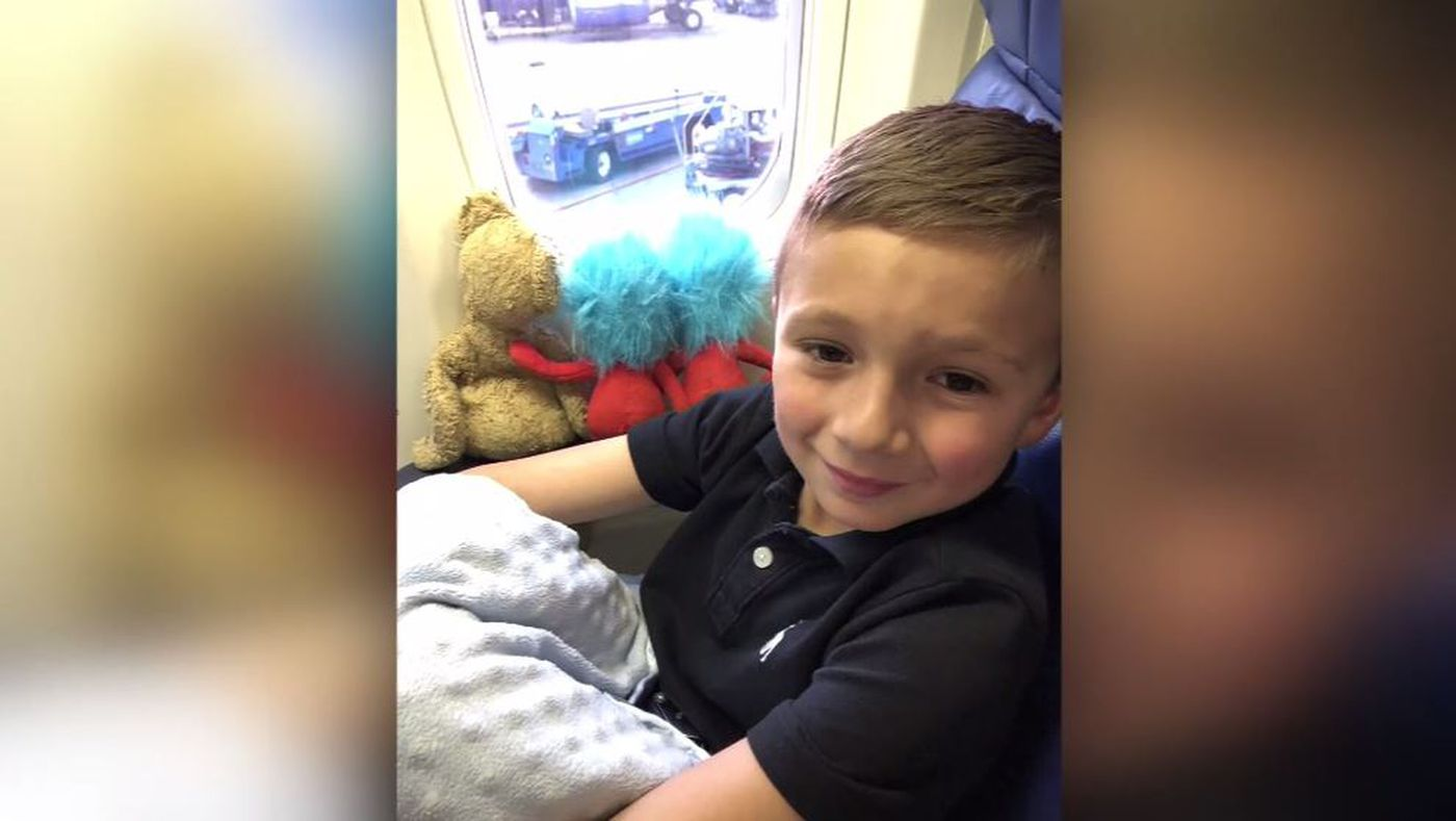 Boy who lost beloved teddy bear on Southwest flight surprised with new friend