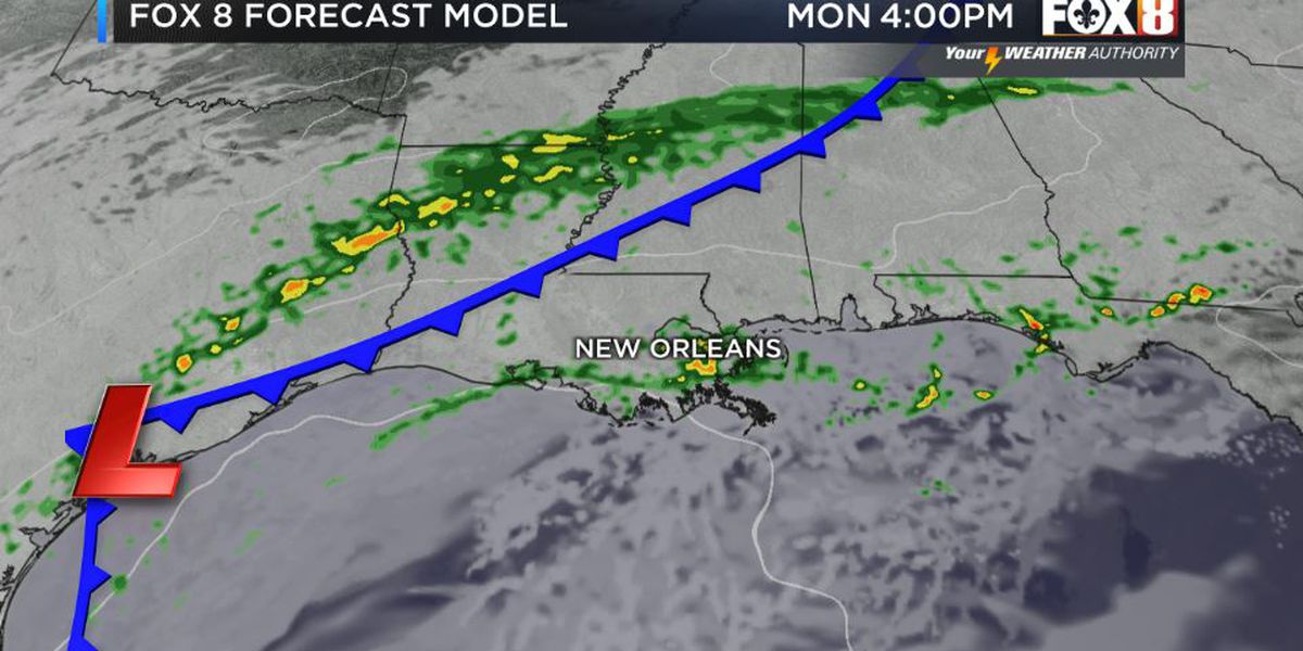 Bruce: Spotty Showers Through Tuesday Evening