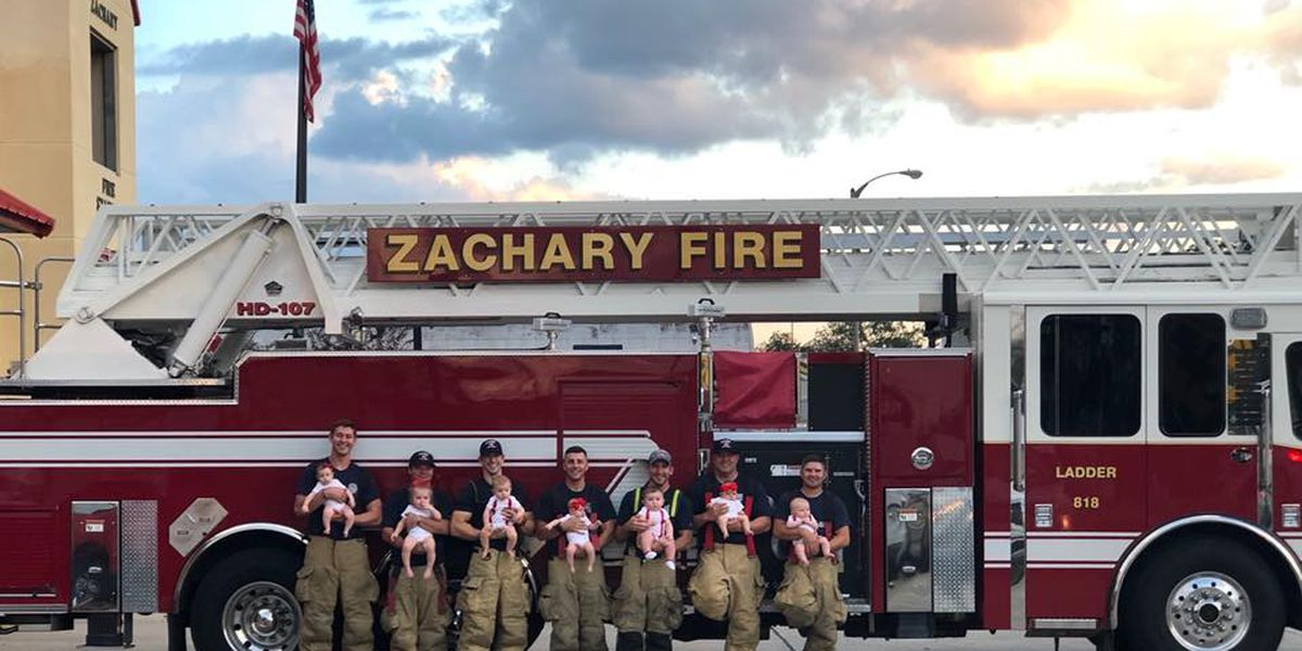 Zachary Fire Department celebrates 'baby boom'