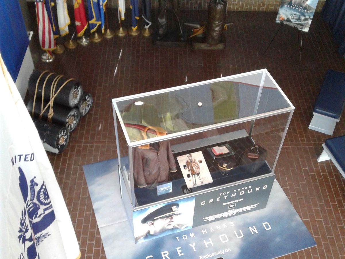 'Greyhound' exhibit will be on display at USS KIDD Veterans Museum through Labor Day