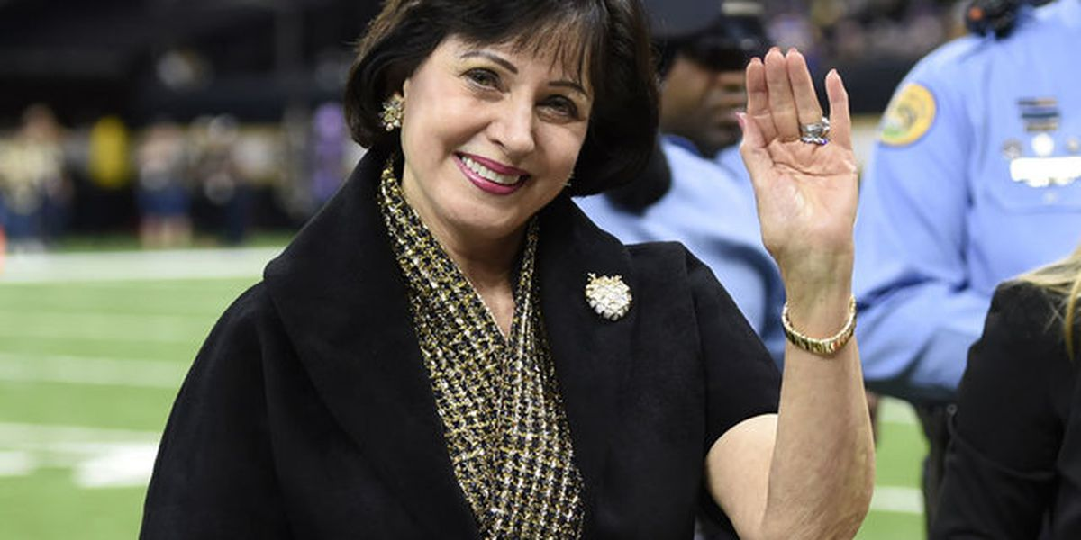 Lady in Black and Gold: Gayle Benson