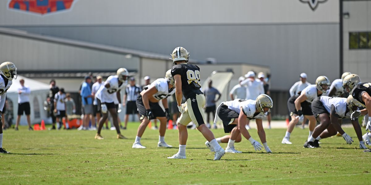 Mario Edwards is the only Saint to sit out practice Thursday
