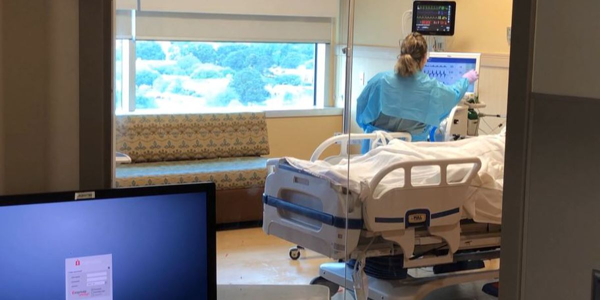 La. sees fewest people hospitalized with COVID-19 since June