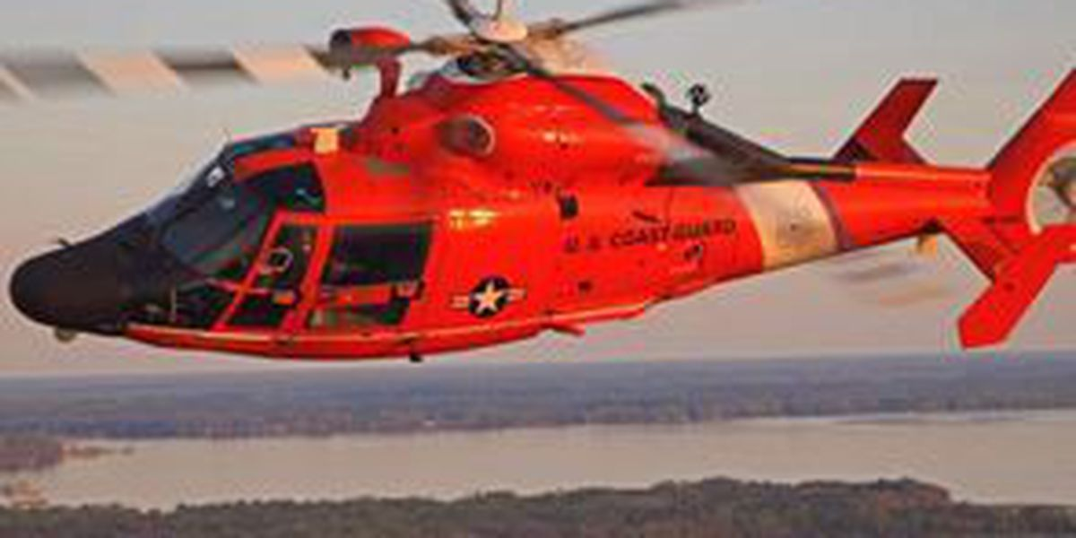 Coast Guard rescues missing oyster fisherman near Cocodrie