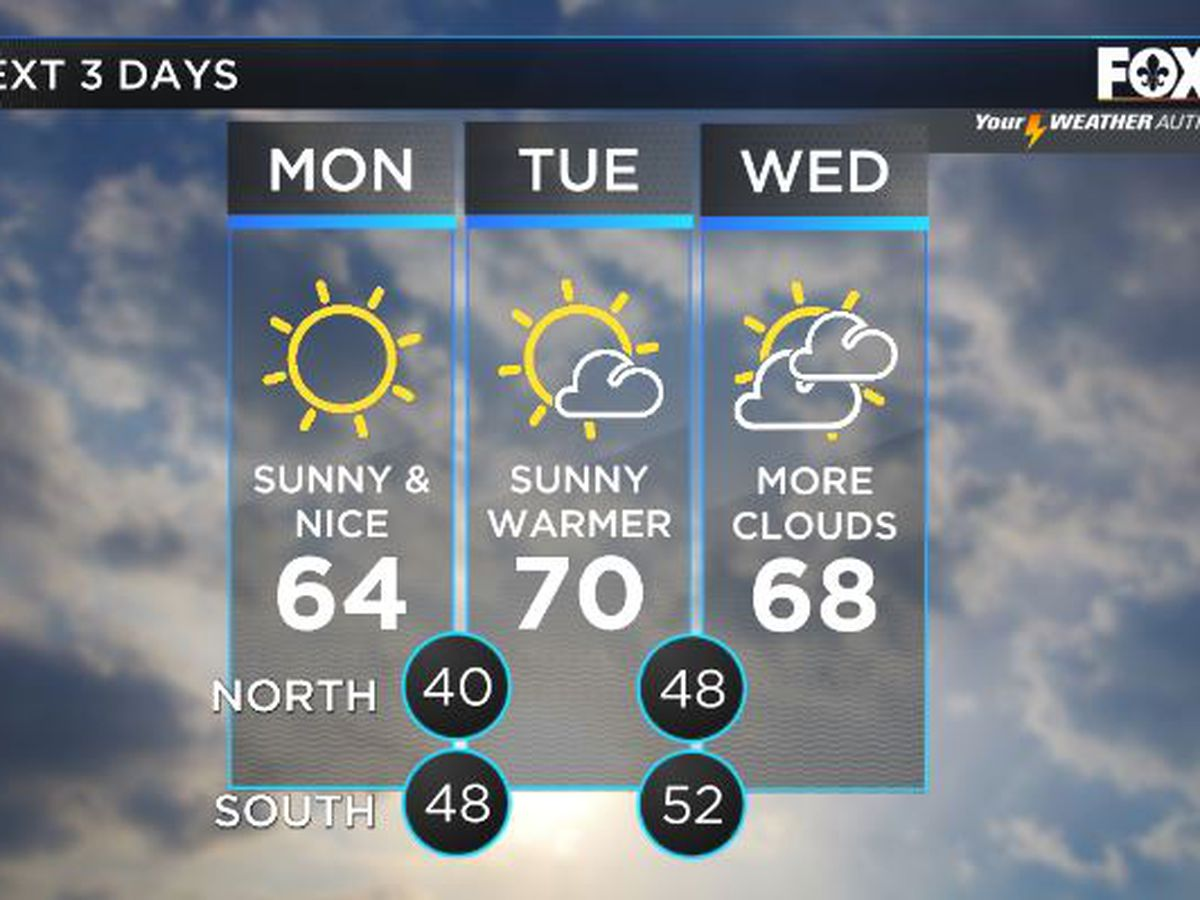 Shelby: Sunny & nice conditions for MLK Day