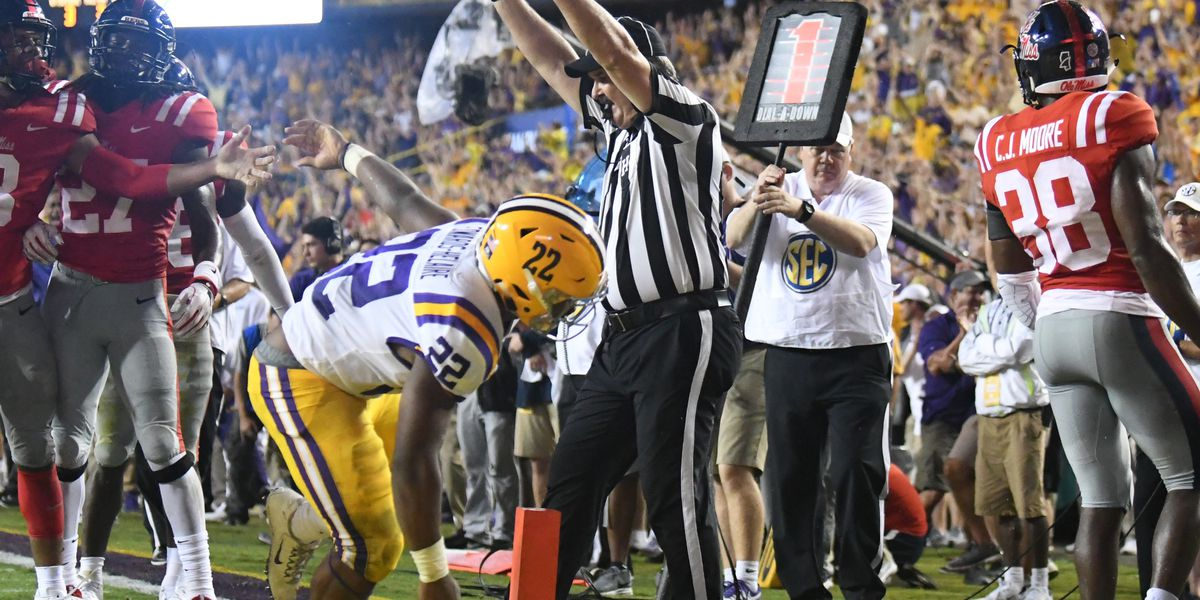 LSU installed as favorite when they visit Florida