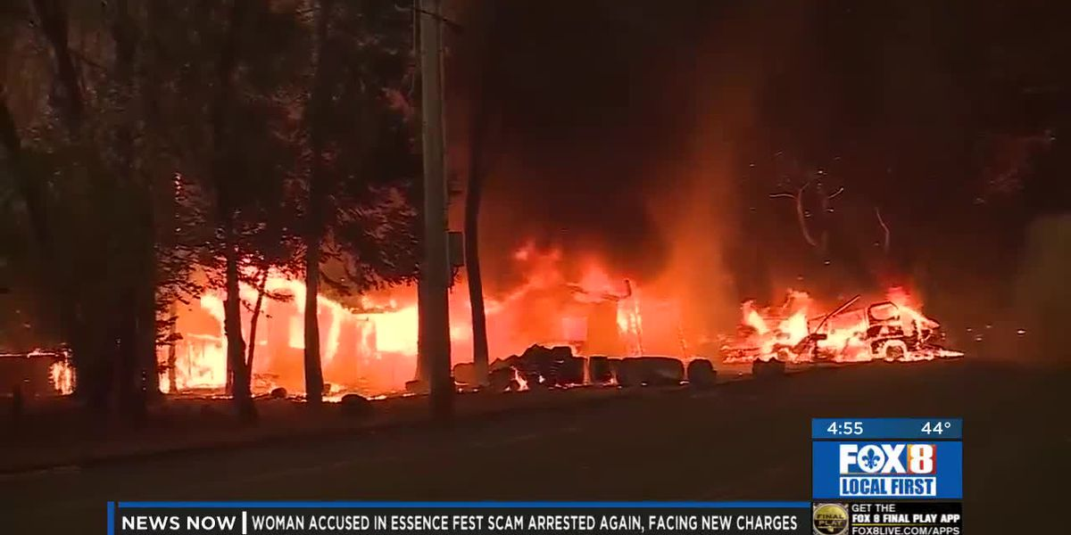 Kenner man's daughter loses home in California wildfire