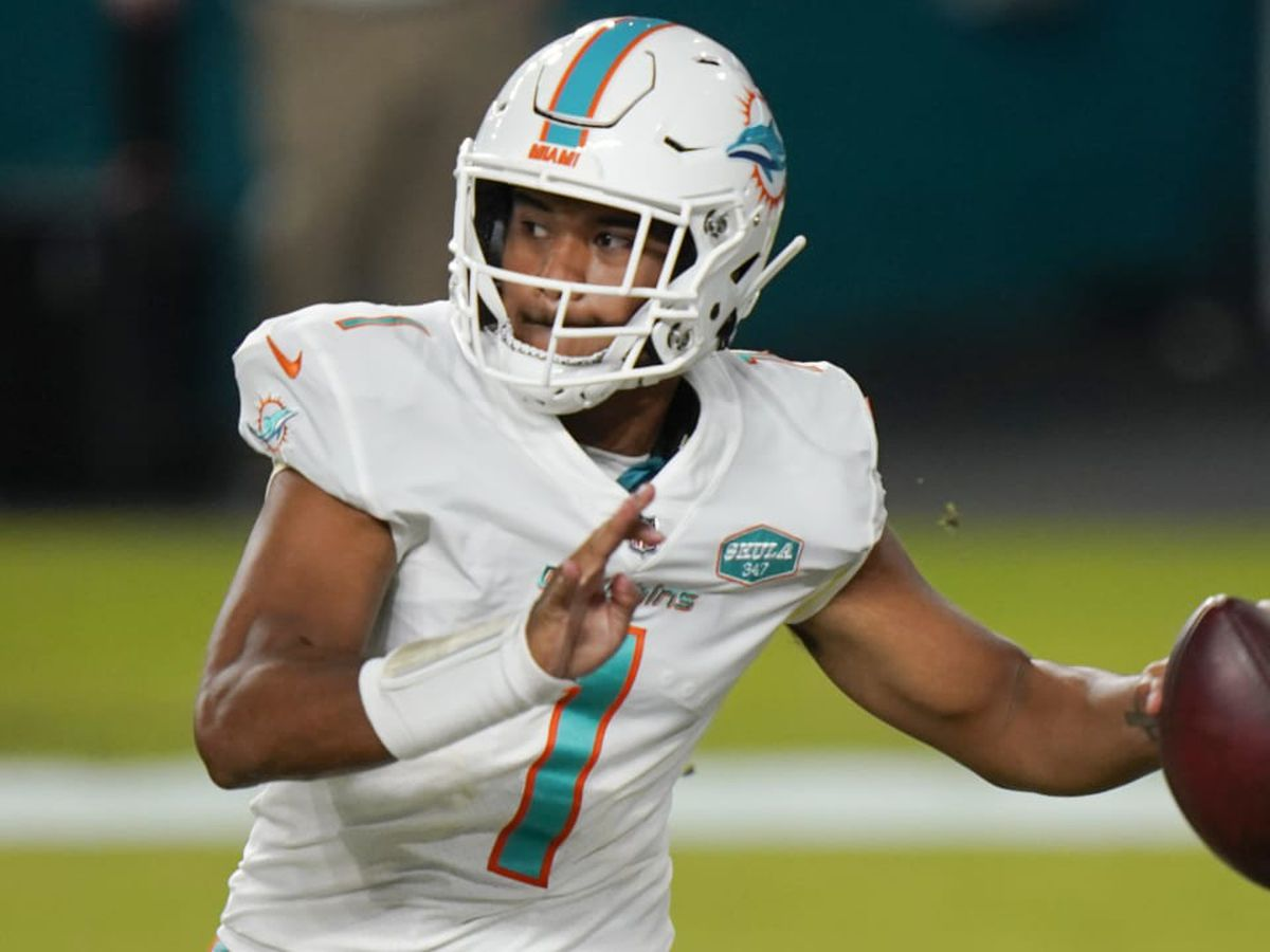 Miami Dolphins name rookie Tua Tagovailoa their starting quarterback