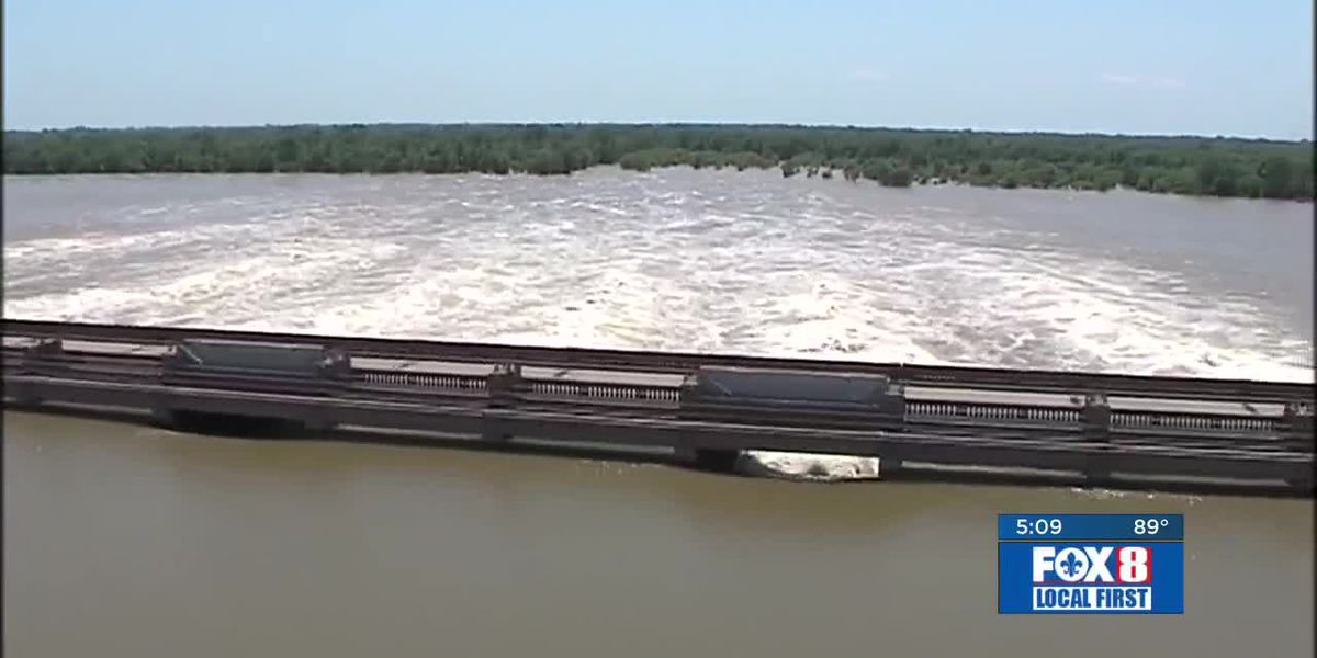 Morganza Spillway opening likely