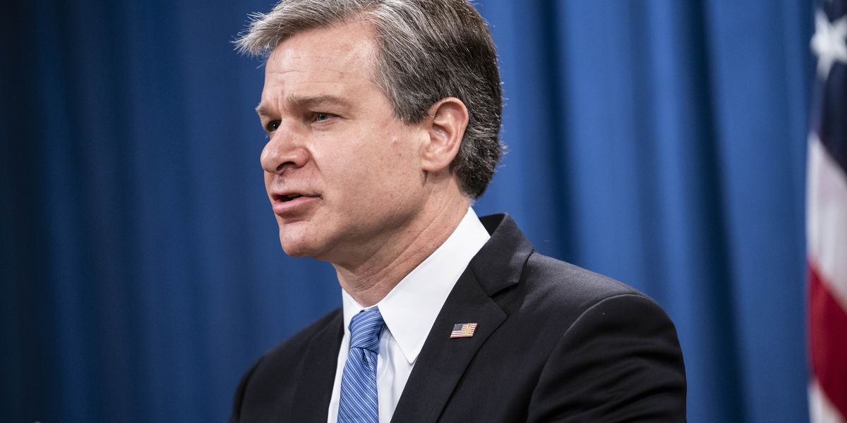 LIVE: FBI chief calls Jan. 6 'domestic terrorism,' defends intel