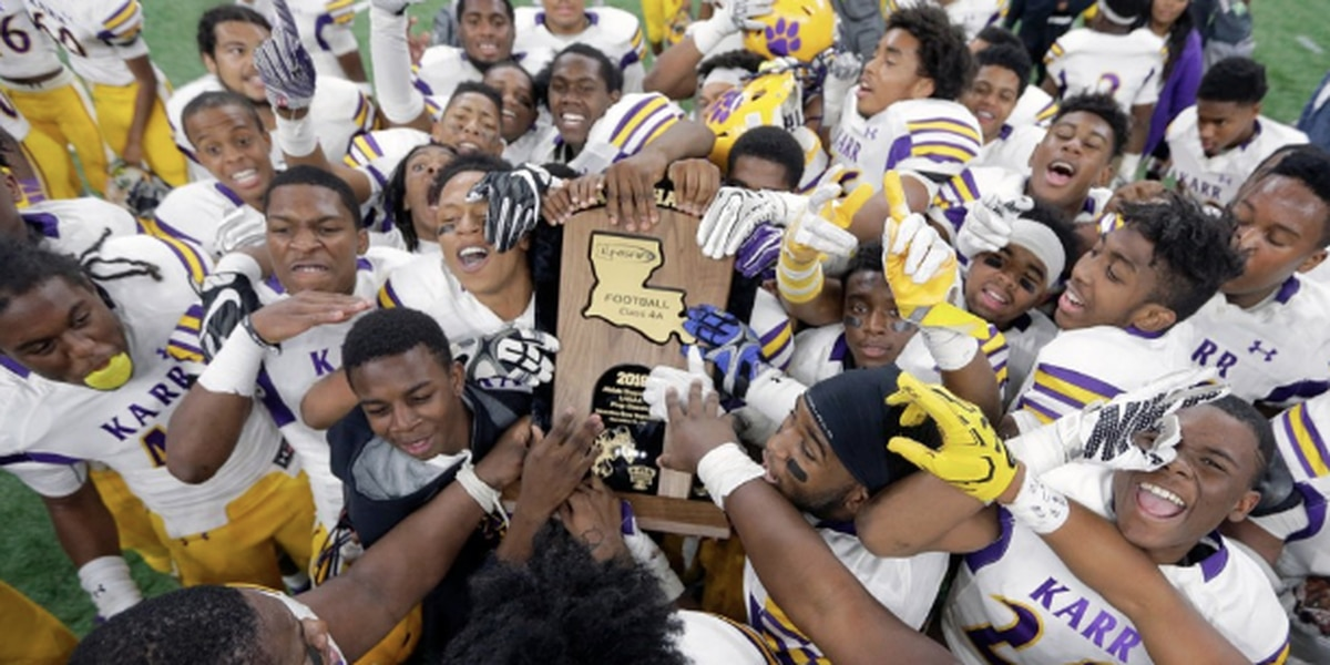 Karr Beats Neville to Win 4A Title