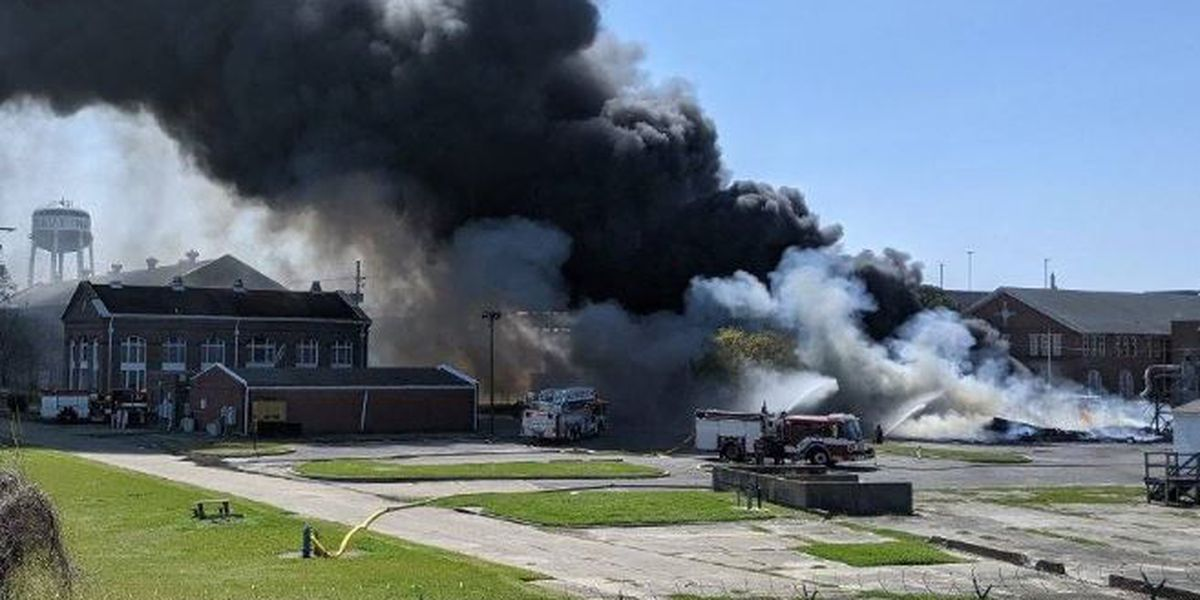 NOFD on scene of 2-alarm fire in Federal City