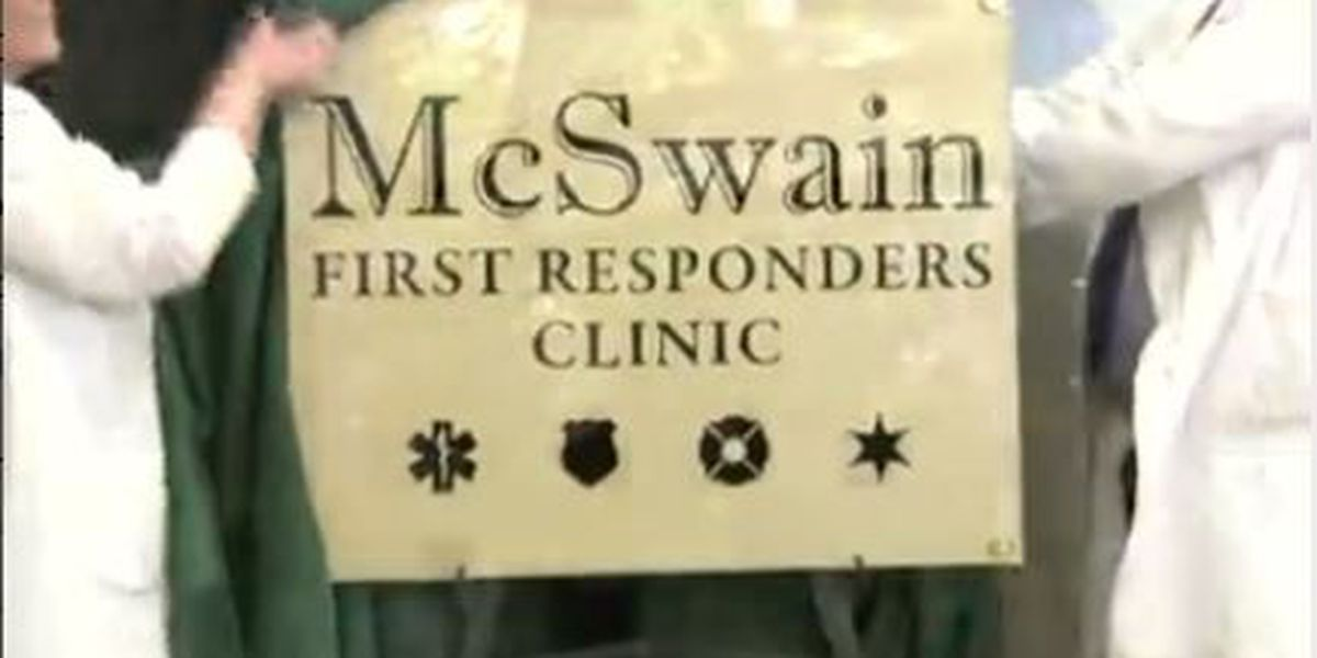 Norman McSwain Clinic dedication