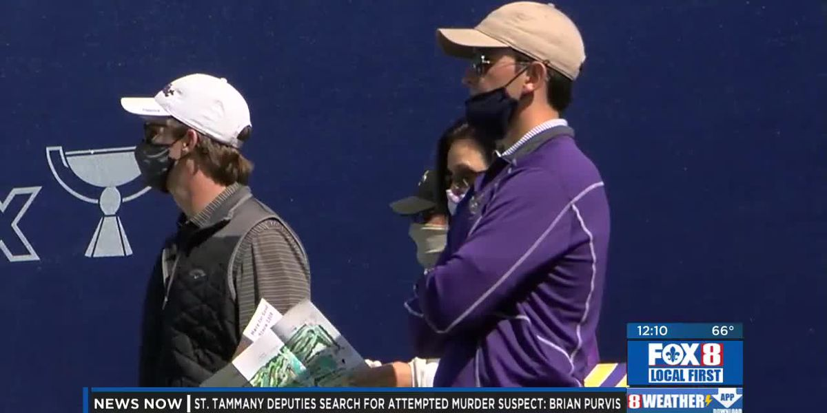 Fans pack the Zurich Classic