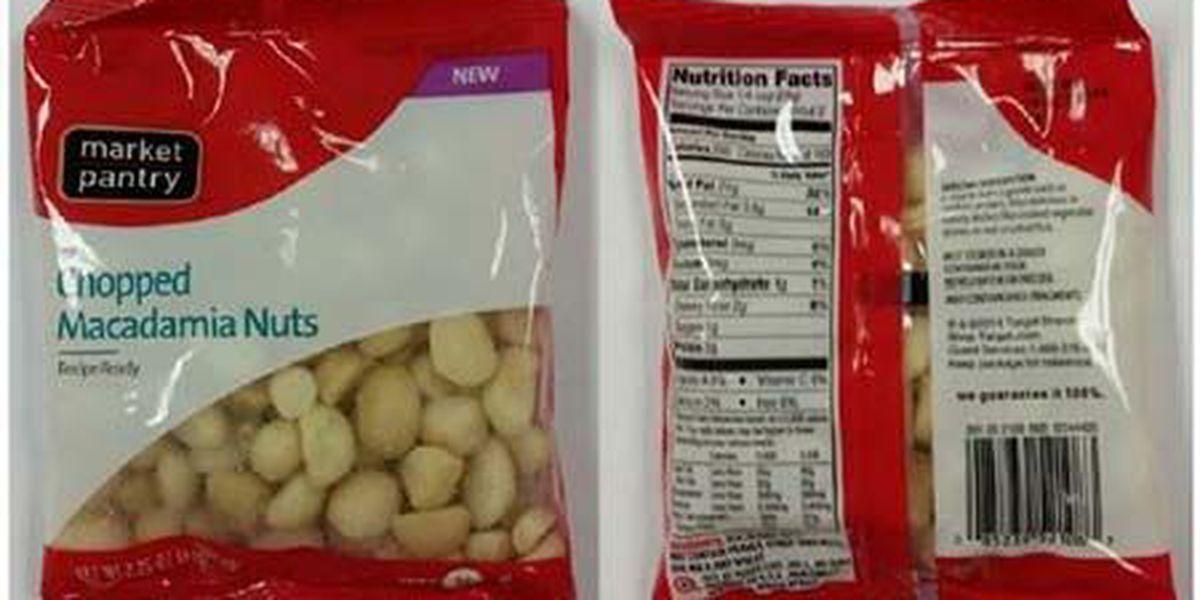 Macadamia nuts recalled over salmonella concerns