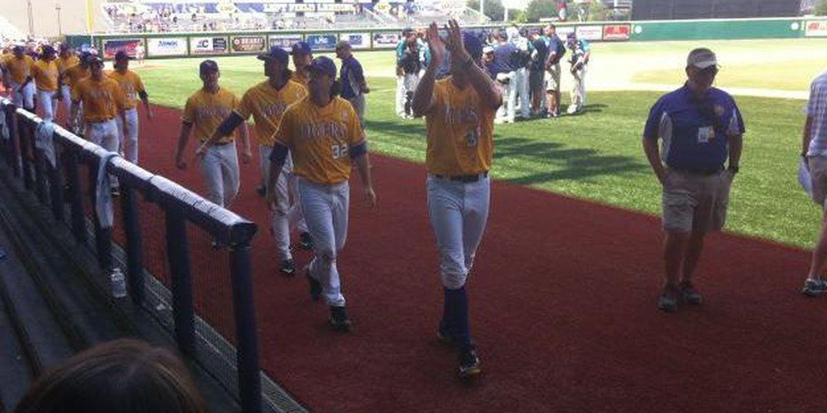 LSU wins regional championship 2-0