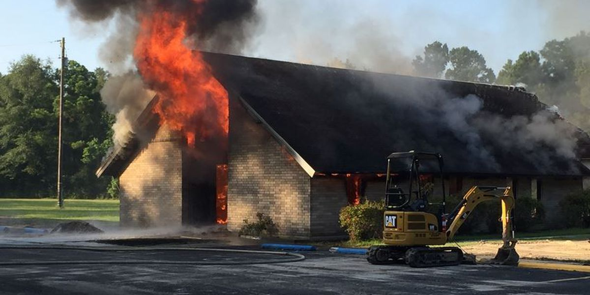 Members devastated after arsonist torches church for 2nd time