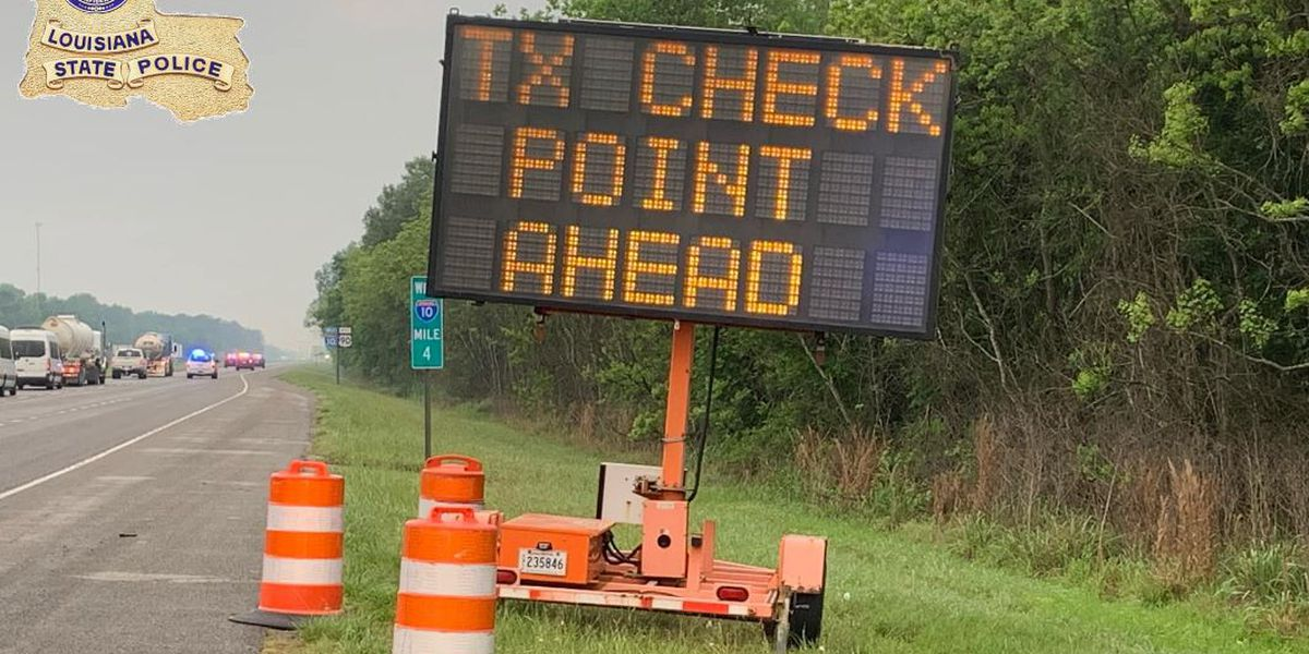 Bridges in Sabine, Shelby counties closed to non-essential traffic as DPS steps up border screening stations
