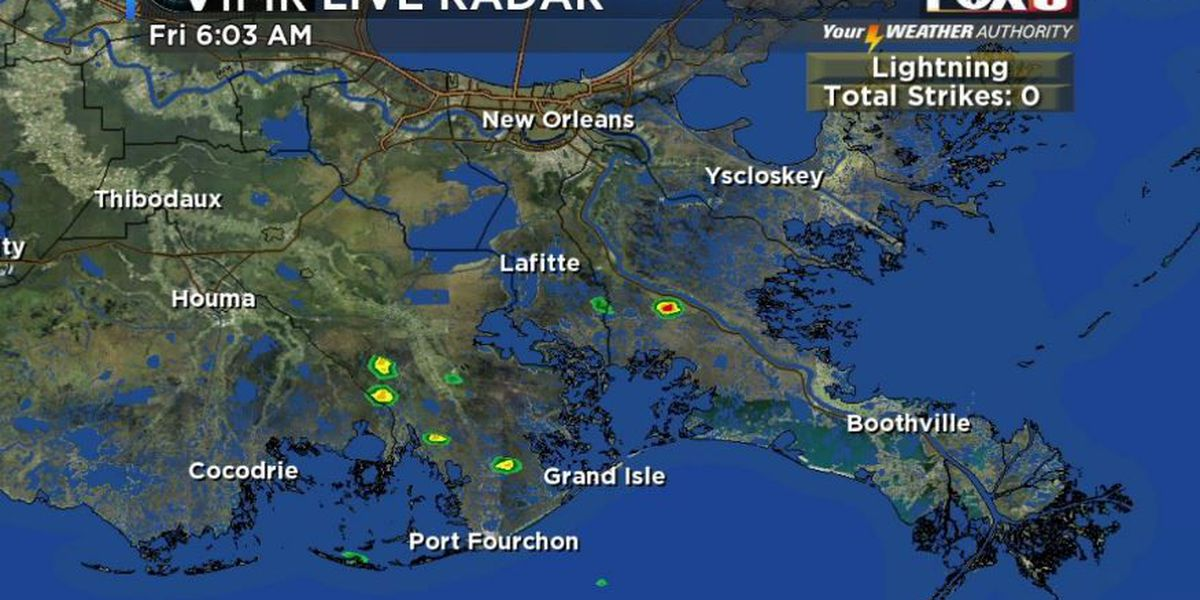 Your Weather Authority: Dry skies early, possible scattered showers late